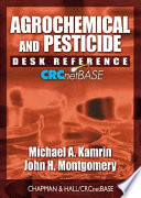 Agrochemical and Pesticide Desk Reference on CD ROM
