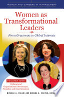 Women As Transformational Leaders From Grassroots To Global Interests 2 Volumes