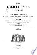 Dizionario generale di scienze  lettere  arti  storia  geografia
