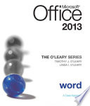 The O Leary Series  Microsoft Office Word 2013