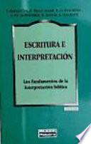 Escritura e interpretación