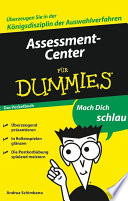 Assessment Center f  r Dummies