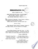 Ferdinando 2  per la grazia di Dio  Re del Regno delle Due sicilie  di Gerusalemme
