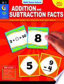 Math Games Galore  Addition and Subtraction Facts  Gr  1  eBook