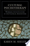 Cultural Psychotherapy