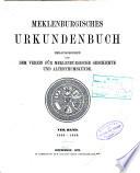 Mecklenburgisches Urkundenbuch, 786-1900