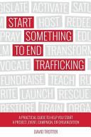 Start Something to End Trafficking
