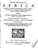 Pertinente beschrijvinge van Africa