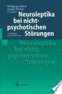 Neuroleptika bei nichtpsychotischen Störungen