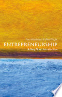 Entrepreneurship  A Very Short Introduction