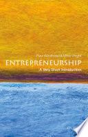 Entrepreneurship  A Very Short Introduction