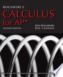 Rogawski s Calculus for AP