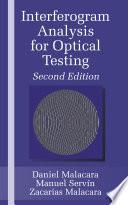 Interferogram Analysis For Optical Testing  Second Edition