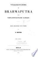 Völkerstämme am Brahmaputra und verwandtschaftliche nachbarn