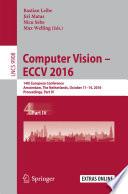 Computer Vision     ECCV 2016