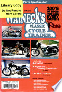 Walneck S Classic Cycle Trader December 2000
