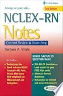 NCLEX RN   Notes