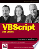 Vbscript Programmer S Reference book