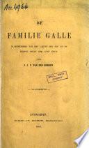 De Familie Galle