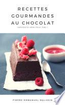 illustration Recettes Gourmandes au chocolat 20 recettes