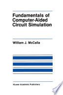 Fundamentals of Computer Aided Circuit Simulation