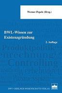 BWL   Wissen zur Existenzgr  ndung