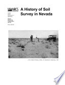 A history of soil survey in Nevada   a compilation of short stories commemorating the 100th anniversary of the Soil Survey Program