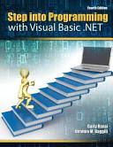 Step Into Programming With Visual Basic  net