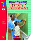 Grade 6 Math Test   Teacher Guide
