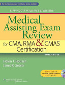 Medical Assisting Exam Review for CMA  RMA   CMAS Certification   Medical Assisting Pocket Guide   Nursing Drug Handbook 2015