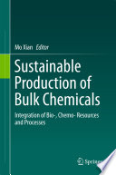 Sustainable Production of Bulk Chemicals
