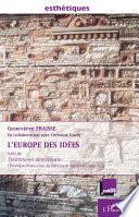 L'Europe des idées (France Culture)