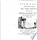 Giornale per servire alla storia ragionata della medicina di questo secolo ...