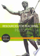 Resources for Teaching History  11 14 Book PDF