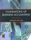 Foundations of Business Accounting