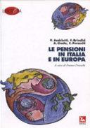 Le pensioni in Italia e in Europa