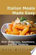Italian Meals Made Easy