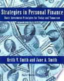 Strategies in Personal Finance