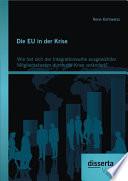 Die EU in der Krise  Wie hat sich der Integrationswille ausgew  hlter Mitgliedsstaaten durch die Krise ver  ndert