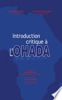 Introduction Critique L Ohada