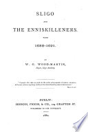 Sligo and the Enniskilleners from 1688 1691 Book PDF