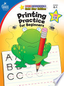Printing Practice for Beginners  Grades K   1