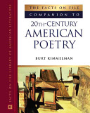 The Facts on File Companion to 20th-century American Poetry