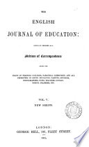 The English journal of education, ed. by G. Moody