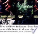 Alison And Peter Smithson book