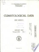 Climatological Data New Mexico
