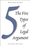 The Five Types of Legal Argument