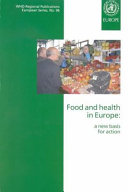 Food And Health In Europe book