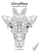 Giraffes Coloring Book for Grown Ups 1