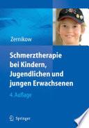 Schmerztherapie bei Kindern  Jugendlichen und jungen Erwachsenen